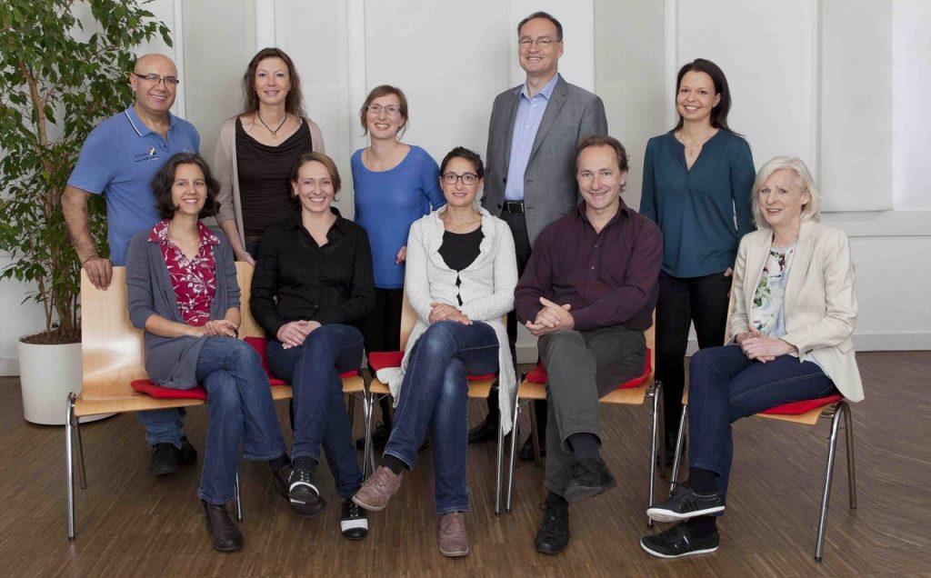 Teamfoto des Selbsthilfezentrum München (SHZ)