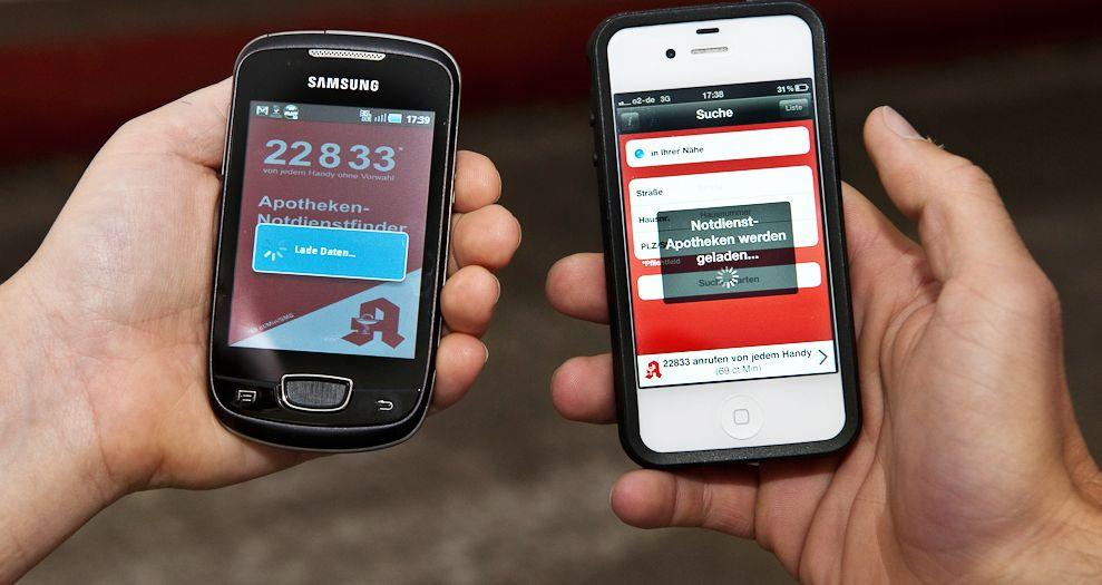 Notdienstapotheken per Handy Ÿfinden