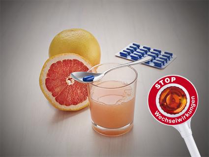 Wechselwirkung Grapefruit mit Arzneimitteln